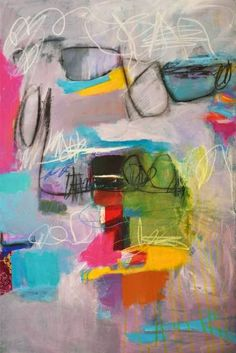 "Saatchi Art Artist Linda O'Neill; Painting, ""No Strings Attached"" #art"