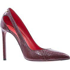 Deep Burgundy High Heels