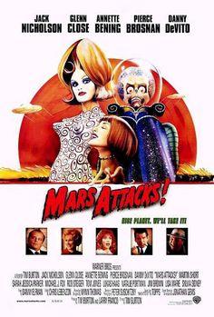 Mars Attacks! de Tim Burton, 1996