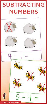 Free subtraction worksheets to help your child learn basic subtraction.
