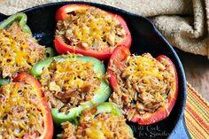 Chicken-Fajita-Stuffed-Peppers-1-from-willcookforsmiles.com-stuffedpeppers-chicken-chickenrecipe