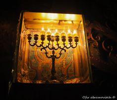 Back to our beginnings....Hunukkah Menorah Ofir Abramovitch