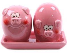 Best of Blighty: November 2011 Pink Piggy Salt and Pepper Shakers pigs