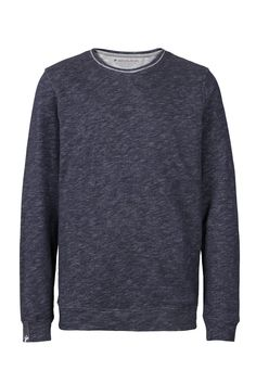 recolution organic Sweater Männer grau gesprenkelt Bio Baumwolle Pullover fair trade