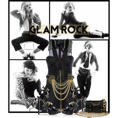 """""""Glam Rock"""" by kmp11 on Polyvore"""