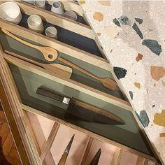 My Deco Marketing on Instagram - Kitchen design with terrazzo worktop #kitchendesign #interiordesign #mydecomarketing Interior Blogs, Luxury Interior Design, Kitchen Images, Kitchen Pictures, Broken Foot, Beautiful Bedrooms, Beautiful Kitchens, Terrazzo, Kitchen Design