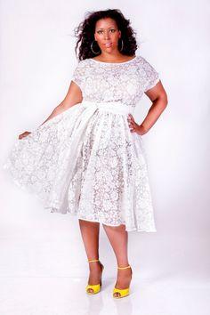 JIBRI Plus Size Swing Dress Floral Burnout by jibrionline on Etsy, $230.00