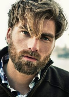 Thinking about getting a blonde beard? Take a look at some of these brilliant and bold blonde beard styles to see whether blondes have more fun. Beard Styles For Men, Hair And Beard Styles, Short Beard Styles, Hair Styles, Beard Hair Growth, Beard Growth Stages, Stubble Beard, Beard Cuts, Moda Masculina