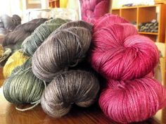 LUMEN from Kettle Dyed Yarns