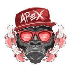Nuke Monkey on Behance