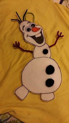 Olaf candy bag