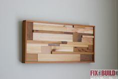 Scrap Wood Wall Art