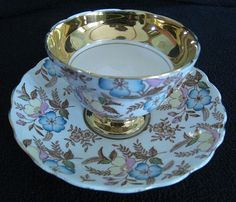 Rosina English Bone China Cup and Saucer