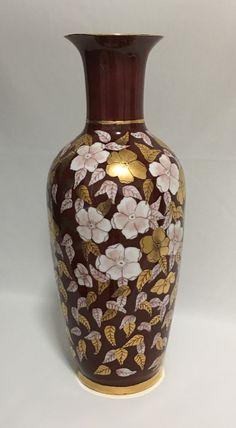 Sandra and Maria Vumbaca, Ceramic artists. Floral on Porcelain Vase. Rustic Ceramics, Australian Art, Porcelain Vase, Ceramic Artists, Earthenware, Clay Art, Ceramic Pottery, Glaze, Vibrant Colors