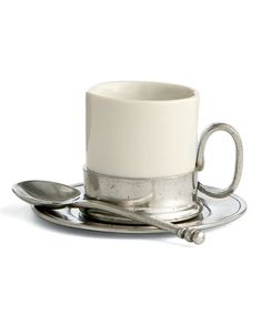 Tuscan (Caffe) Espresso Cup & Saucer With Spoon