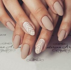 nails, manicure, and Nude image