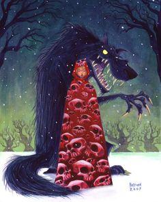 John Hoffman. Little Red Riding Hood