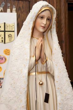 """""""Love our Lady. And she will obtain abundant grace to help you conquer in your daily struggle.""""- Padre Pio"""
