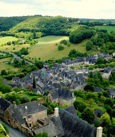 view from turenne france most beautiful village dordogne valley