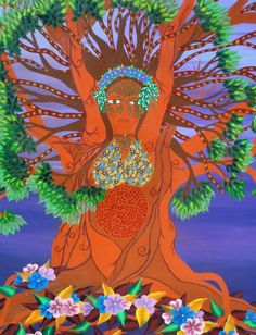 Art work created by Ren Hughes. This painting is called the goddess in the tree. she was my largest paint I have completed and I got my inspiration from mother earth. Celtic Symbols And Meanings, In The Tree, Large Painting, Mother Earth, Art Work, Spirituality, Journey, Colour, Inspiration