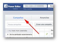 Campañas Power Editor Socialancer