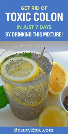 Get Rid of Toxic Colon in Just 7 Days by Drinking this Mixture! is part of Healthy detox cleanse - People have appreciated, and performed colon cleanses since ancient Greece Let us read to know how to get rid of toxic colon with this homemade juice Bebidas Detox, Full Body Detox, Body Cleanse, 7 Day Detox Cleanse, Stomach Cleanse, Intestine Detox Cleanse, Juice Cleanse, Digestive Cleanse, Detox Plan