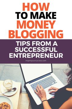 Make money blogging tips from an entrepreneur! Writing success Dustin Lein joins our Inspire Your Success Podcast to share how he ditched his 9 - 5 to become a blogger full time. This episode is a success story to inspire you! #careeradvice #blogging #success #freelancewriting #howtomakemoneyonline