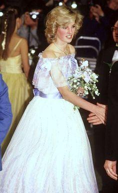 Diana at the 1984 Royal Variety Performance
