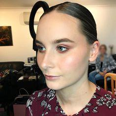 The gorgeous BTS at the runway event tonight ✨ Makeup Hair Runway, Pearl Earrings, Bts, Crown, Makeup, Hair, Instagram, Fashion, Pearl Drop Earrings