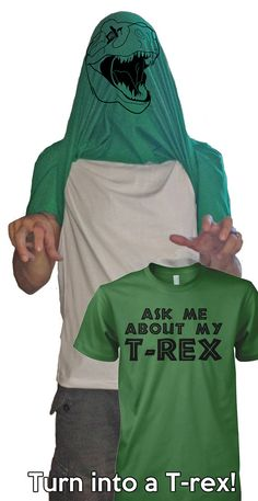 Ask me about my trex shirt dinosaur t shirt by CrazyDogTshirts, $16.99 Hilarious