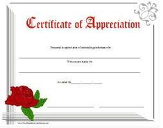 pastor appreciation certificate template free - free printable certificate of appreciation award peer