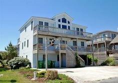 Twiddy Outer Banks Vacation Home - Castle In The Sand - Corolla - Oceanside - 6 Bedrooms
