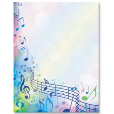 Page Borders Design, Border Design, Borders For Paper, Borders And Frames, Borders Free, Music Border, Page Boarders, Music Backgrounds, Music Images