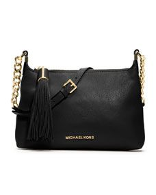 MICHAEL Michael Kors  Small Weston Pebbled Messenger Bag