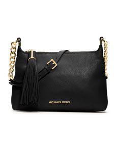 MICHAEL Michael Kors  Small Weston Pebbled Messenger Bag
