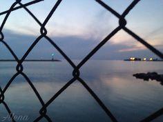 #Lighthouse #Fence #Thessaloniki #Greece