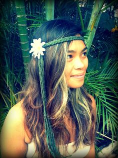 Hippie Headband Gypsy Halo Halloween Hippie Costume by GypsyHalos, $14.00