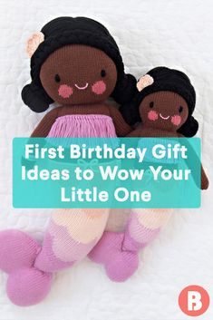 Your little one if officially a toddler, and the milestone deserves a memorable gift. Here are some surefire winners. Unique First Birthday Gifts, Birthday Presents For Girls, Baby Girl First Birthday, First Birthdays, Girl Gifts, Baby Gifts, Memorable Gifts, Baby Toys, How To Memorize Things