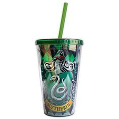 Slytherin House Crest Travel Cup