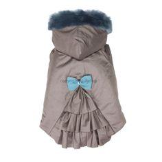 Abrigo LaLa Hoodie, azul