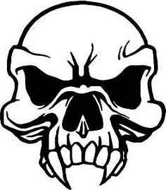Semper Fi Marines Skull Laptop Car Truck Vinyl Decal Window - Skull decals for trucks
