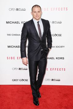 """Channing Tatum at the NYC """"Side Effects"""" premiere @ #AMC #Loews Lincoln Square on 1/31/13  http://celebhotspots.com/hotspot/?hotspotid=5547&next=1"""