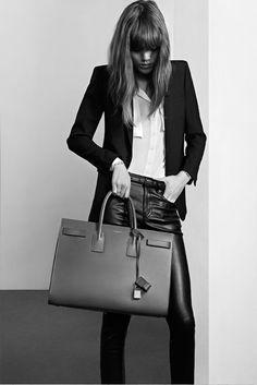 cool Campanhas | Freja Beha Erichsen por Hedi Slimane para Saint Laurent Pré Fall 2013 Diese und weitere Taschen auf www.designertaschen-shops.de entdecken