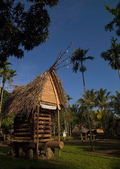 ˚Yam House - Trobriand island, Papua New Guinea