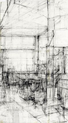 Ginny Grayson Very much enjoy architectural sketches. Mechanical inspiration