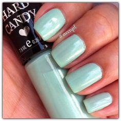 Two coats and no top coat of Record Breaker by Hard Candy.  #HardCandy #nails #nailpolish #swatches .     Instagram: accnpl