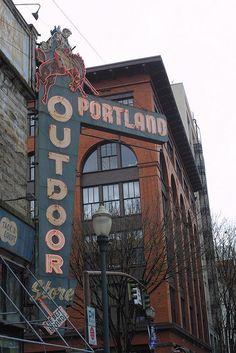 portland outdoor sign