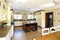 Kitchen Island - A mountain to climb. Check this kitchen island out here http://selfbuild.ie/case-studies/a-mountain-to-climb/