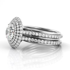 #Holiday #Specials ~ #Danhov Collection exclusively at #Capri #Jewelers #Arizona ~ http://www.caprijewelersaz.com/danhov ♥ Danhov Couture Triple Shank Engagement Ring. Style CE162.