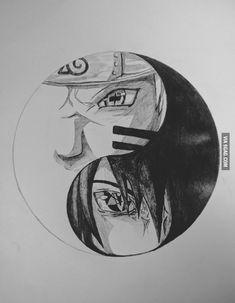 Naruto And Sasuke, Naruto Uzumaki Art, Naruto Fan Art, Wallpaper Naruto Shippuden, Naruto Wallpaper, Anime Naruto, Boruto, Naruto Sketch Drawing, Naruto Drawings